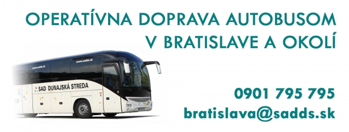 Operational transport in Bratislava